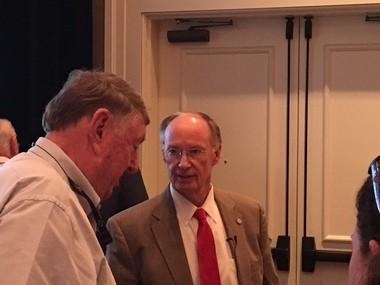 Alabama Gov. Robert Bentley in Point Clear, Ala., on Friday, Sept. 23, 2016. (John Sharp/jsharp@al.com).