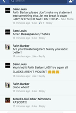 Mobile Police Department Chief James Barber made a post on social media on Tuesday (Oct. 18) night venting his frustrations with violent crime in Mobile after the city's 33rd homicide victim of the year. His wife, Faith Hill exchanged comments on the post with others.(Screenshot via: Facebook)