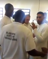 Alabama Department of Corrections inmates video goes viral on social media after performing the Mannequin Challenge. (Image via Facebook)