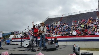The Wes Loper Band was picked to provide pre-show entertainment at President-elect Donald Trump's rally in Mobile. (Lawrence Specker/LSpecker@AL.com)