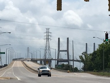The first 5K run on the Cochrane-Africatown Bridge is scheduled for Saturday, June 24, 2017. Proceeds from the race will go toward boosting the Africatown neighborhood, which is among the most historic in Alabama. (John Sharp/jsharp@al.com).