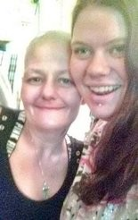 21-year-old Jessica Newcomb (right) was found shot to death on May 24 inside the Budget Inn Hotel in west Mobile. She is pictured her with her mother 44-year-old Michelle Conguista (left).
