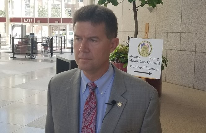 Alabama Secretary of State John Merrill. (Lawrence Specker/LSpecker@AL.com)