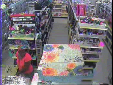 Can you identify this woman who attacked another in a Dothan Dollar General store on April 28? (Dothan Police)