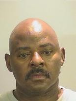 55-year-old Horace Johnson was shot in the neck and arrested Saturday night after driving to the home of a woman he's been accused of stalking and allegedly threatening to kill her. (Tuscaloosa County Jail)