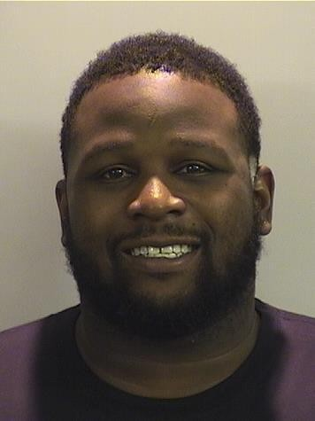 Le'Ron McClain, a former Alabama football player, was arrested Nov. 5 on synthetic drug trafficking chargers. (Tuscaloosa County Jail)