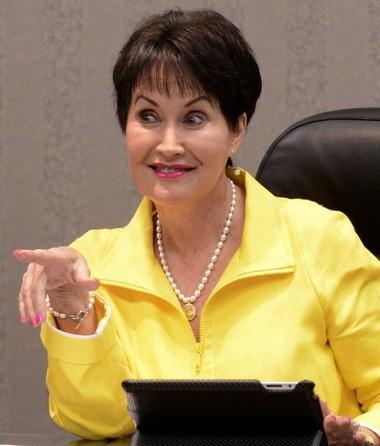 Hoover School Board President Paulette Pearson
