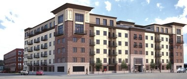 The proposed Iron City Lofts as they will appear on the corner of Fourth Avenue South and 28th Street. (courtesy of Hendon and Huckestein architects)