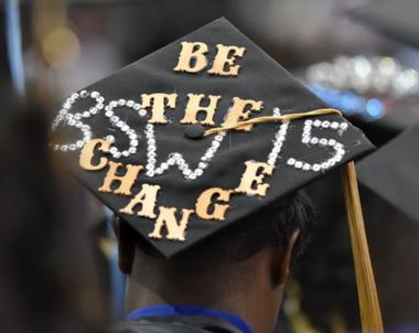 Oakwood University's graduation at Von Braun Center Propst. (Bob Gathany/bgathany@al.com)