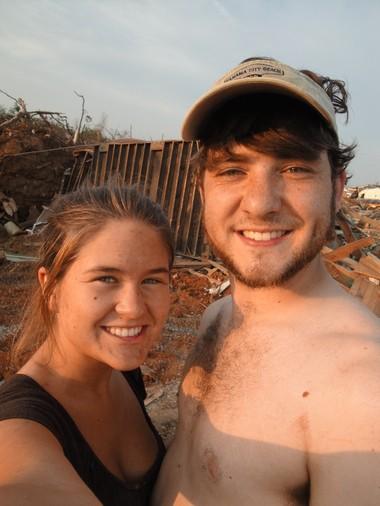 Jessica Melton and her then-boyfriend Adam