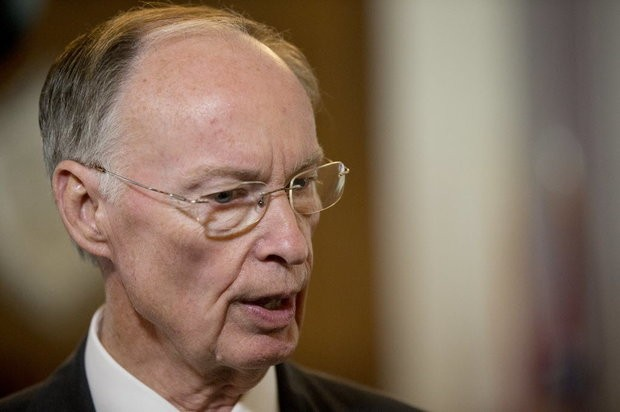 "State records reveal that Gov. Robert Bentley spent $1,732.68 on ""cell phones and prepaid wireless"" at a Tuscaloosa Best Buy in 2015. (File photo)"