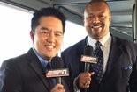 ESPN's Robert Lee (left)