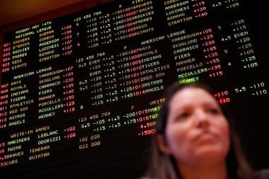How 'bout them odds. (AP Photo/John Locher)