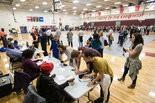 Atlanta voters in line.