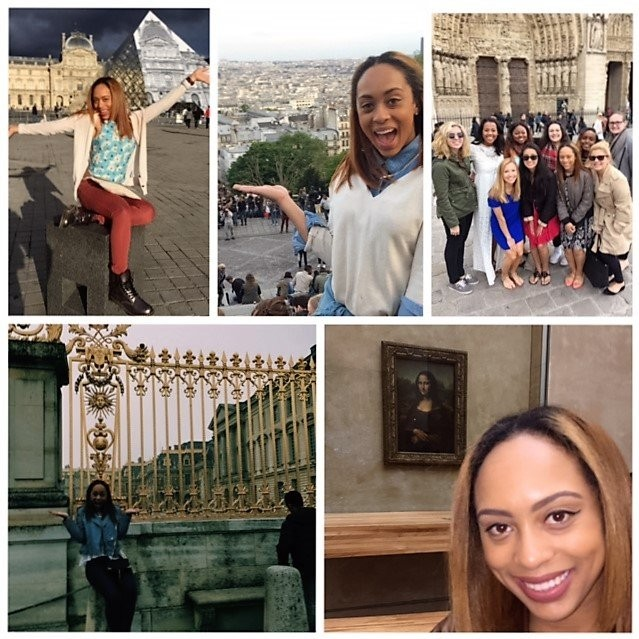 Ariana Ford recently returned from studying in Paris.