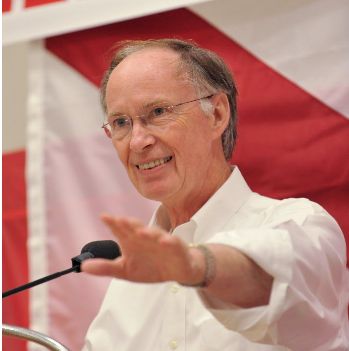 Robert Bentley campaigning in 2010 (file)