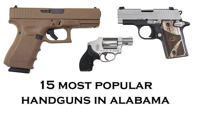 15 most popular handguns in Alabama - al com