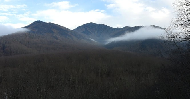 Gatlinburg one year after the devastating wildfires then and now