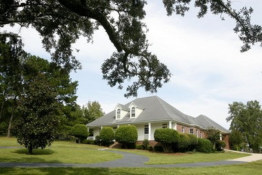 A house on Tanner Williams Road near Big Creek Lake is pictured Tuesday, Sept. 27, 2011 in west Mobile, Ala. (Press-Register file photo)