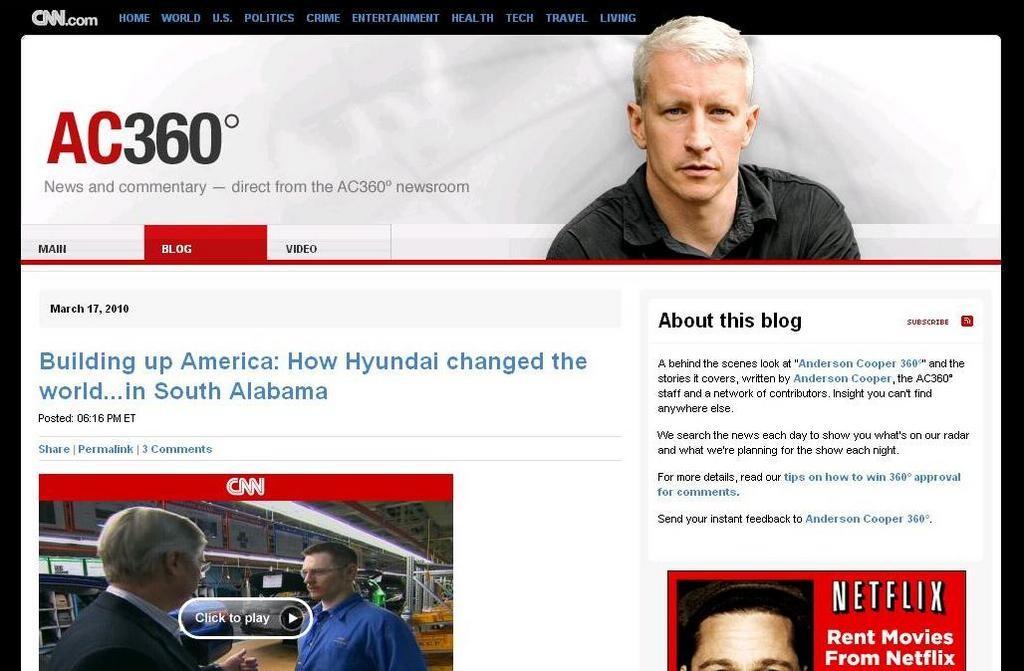 Hyundai Of Gadsden >> CNN cites economic benefits of Alabama Hyundai plant - al.com