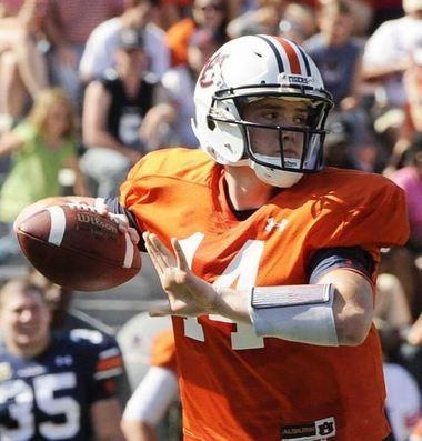 Zeke Pike never played an actual down for Auburn. (Joe Songer/Birmingham News)