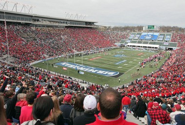 Ole Miss fans packed Birmingham's Legion Field to make the BBVA Compass Bowl ninth in attendance this bowl season.