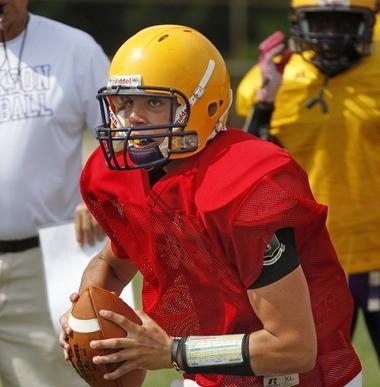 Jackson quarterback Matthew Jordan accounted for more than 2,000 yards of total offense in 2012. (Bill Starling | bstarling@al.com)