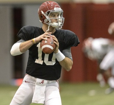 AJ McCarron is expected to be among the top quarterback prospects in the 2014 NFL draft. (Vasha Hunt/vhunt@al.com)