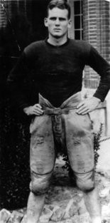 """Paul """"Bear"""" Bryant during his playing days."""