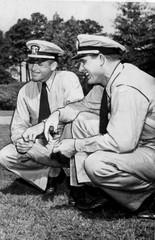 """U.S. Navy Lt. Paul """"Bear"""" Bryant on Sept 7, 1942."""