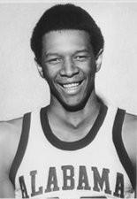 Wendell Hudson, the first black scholarship athlete at Alabama. (Alabama Sports Hall of Fame photo)