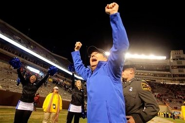 David Cutcliffe has Duke bowl-eligible for the second straight year. (The Associated Press)