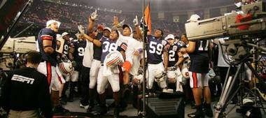Auburn went undefeated in 2004 but could never get ahead of USC or Oklahoma in the BCS standings.