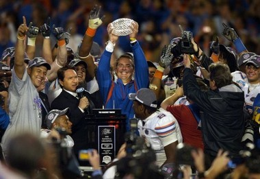 Urban Meyer and Florida defeated Oklahoma in the 2009 BCS Championship Game.