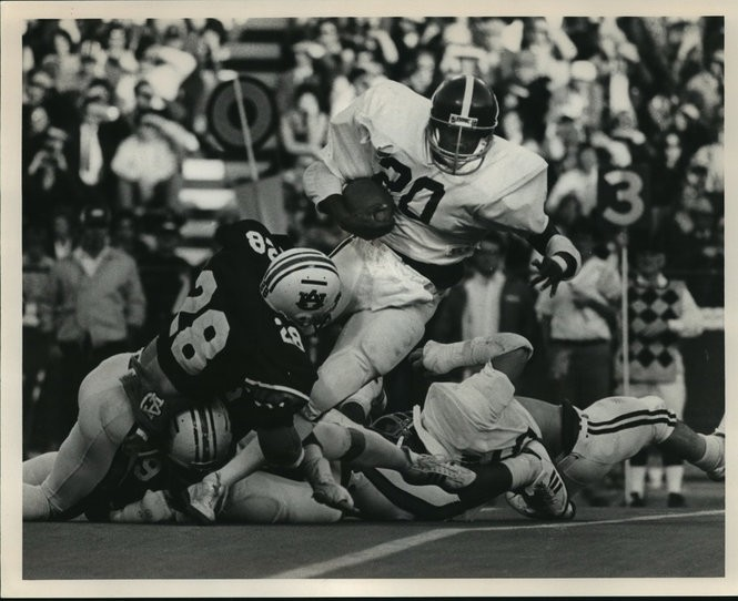 2755371ccbf885 This was the first Iron Bowl held in Bryant-Denny Stadium and the first  held in Tuscaloosa since 1901. The game wasn t quite as exciting as the  hype as ...