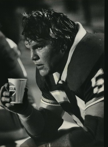 Tom Banks is shown on the sideline with the Birmingham Stallions in 1983. (Birmingham News file photo by Tom Self)