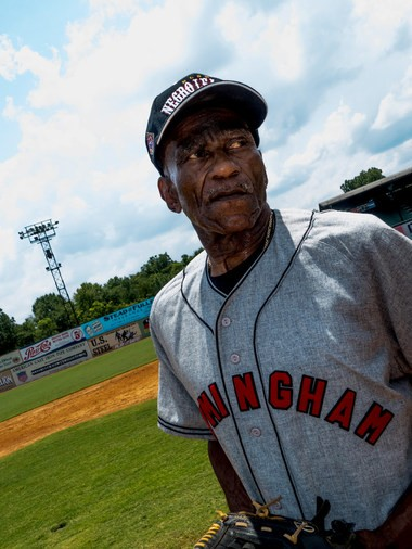 His pro days over, Enrest Fann continued his baseball career in a Birmingham-area industrial league. (John Hall | AL.com)