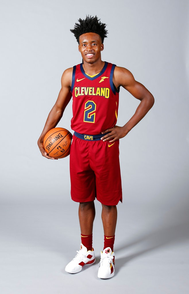 the latest a67ec 76dbd Collin Sexton finds 'different vibe' with new-look Cavaliers ...