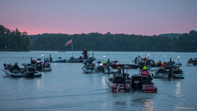 More than 200 top semi-pro anglers will come to Lake Guntersville Nov. 1-3 for the Costa FLW Series Championship competition