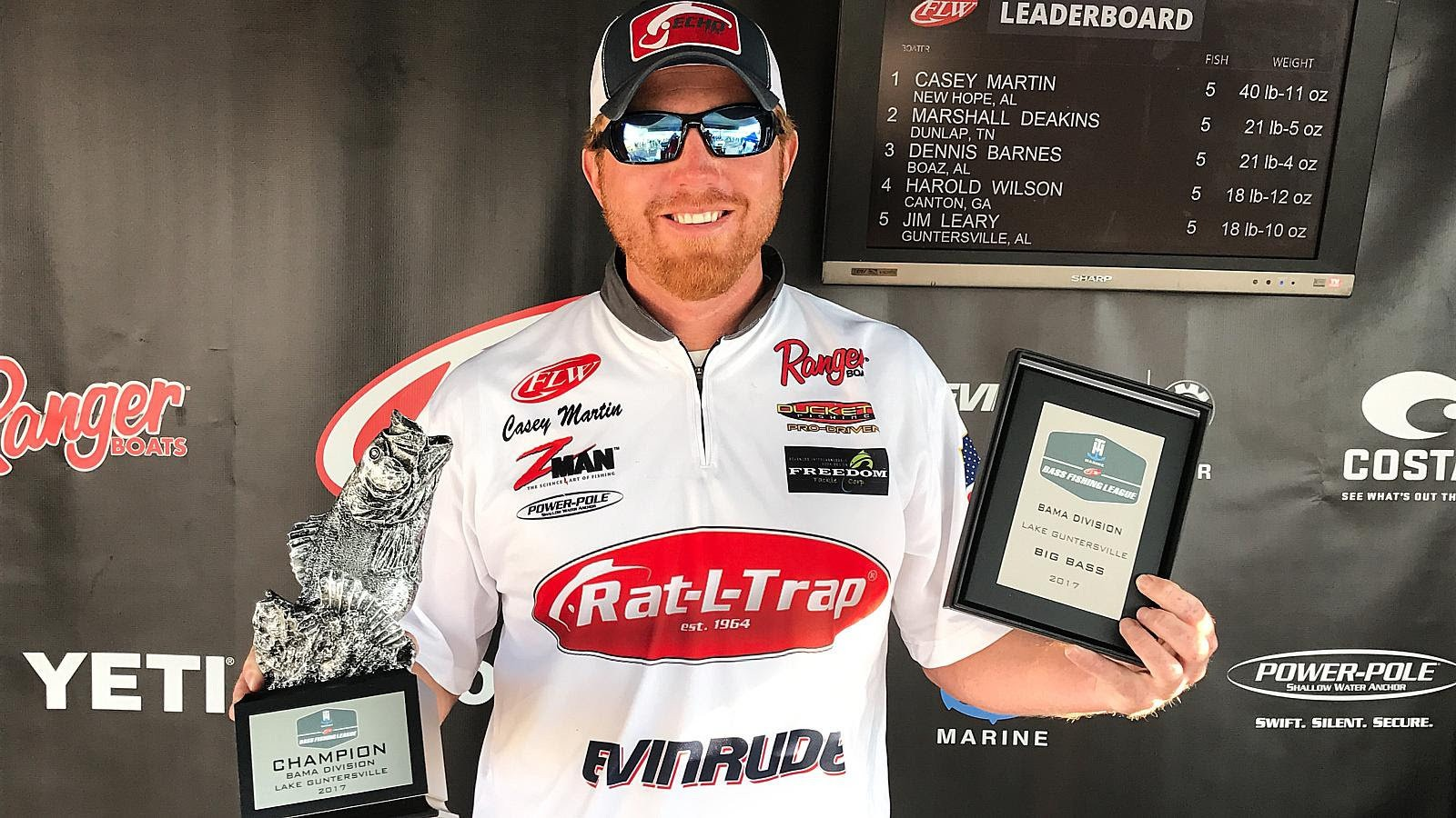 Lake Hope's Casey Martin wins FLW-BFL with near record catch