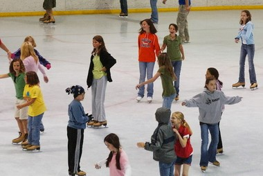 The Pelham Public Library is hosting an ice skating party from 1 to 3 p.m. on May 28 at the Pelham Civic Complex and Ice Arena to launch this summer's reading program for kids. (File photo)