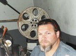 Bessemer filmmaker Kevin Wayne at the Lincoln Theatre in April.