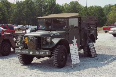 Vintage military vehicle show coming to Mount Olive this weekend