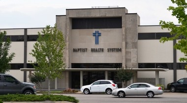 The current Baptist Health System headquarters at 32nd Street and Fourth Avenue South is being purchased by Sloss Real Estate Co. for a planned redevelopment. (Michael Tomberlin / AL.com)