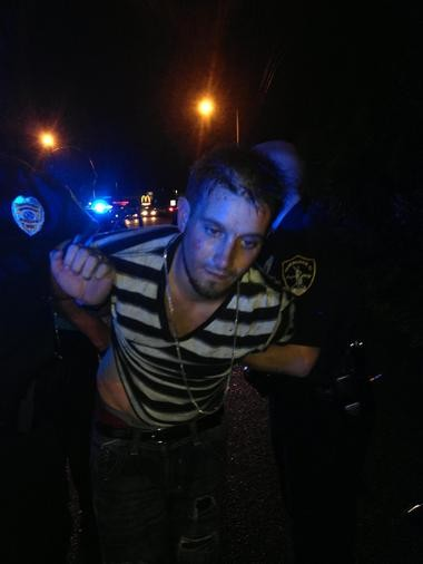 Youth pastor Matt Pitt was arrested Tuesday, Aug. 20, 2013 by Birmingham police and Jefferson County sheriff's deputies.