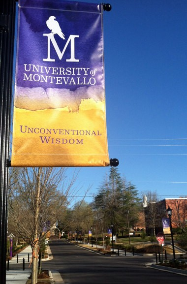 Montevallo's Promenade sidewalk improvement project links the University of Montevallo to Orr Park through the downtown area. (File photo)