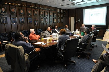 An Executive Committee meeting of the Birmingham Water Works Board held in Birmingham, Alabama Thursday February 27, 2014. (Frank Couch/fcouch@al.com)