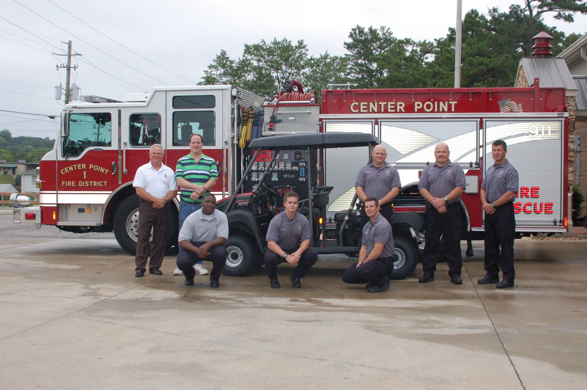 Center Point Fire District Gets Kawasaki Trans Mule To Help