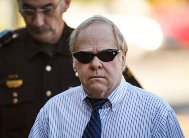 Harvey Updyke, seen here as he walks into the Lee County Justice Center on June 20, 2012, will not be allowed on the Auburn campus after pleading guilty to a charge connected to the poisoning of Toomer's Oaks. (AP Photo/Vasha Hunt, Opelika-Auburn Newsl)