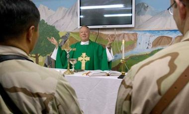 A proposed amendment to the defense appropriations bill currently before the House of Representatives would require chaplains to be associated with an established faith. (Contributed photo/Department of Defense)